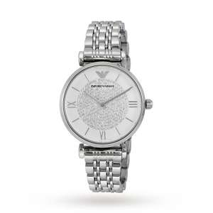 ARMANI AR1925 Silver Stainless Steel Ladies Watch £108.25 @ Tic Watches