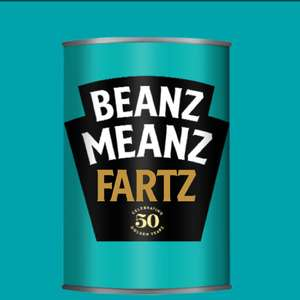 Personalised Heinz Beanz Tin - Ideal Stocking Filler! £4.49 Delivered @ Heinz