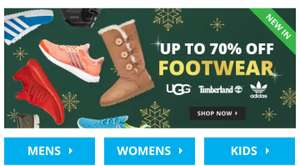 Up to 70% off on UGG @ M and M Direct