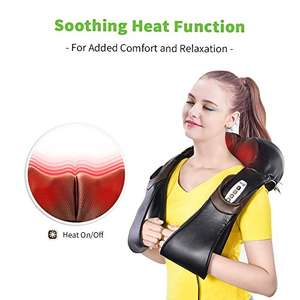 Shiatsu heated neck and back massager - Sold by JieXun / Fulfilled by Amazon - £19.99 Prime / £24.74 non-Prime