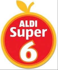 Aldi super 6 Thursday 7th DEC until Wednesday 19th Dec