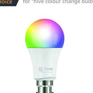 Hive Active Color Light - B22 Bayonet £24.00 @ Amazon