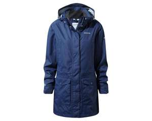 Madigan III Long Jacket Night Blue Ladies Waterproof and lined long jacket. Available in BLUE or DARK RIOJA RED £45 @ Craghoppers