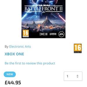 Star Wars Battlefront 2 £44.95 @ TGC