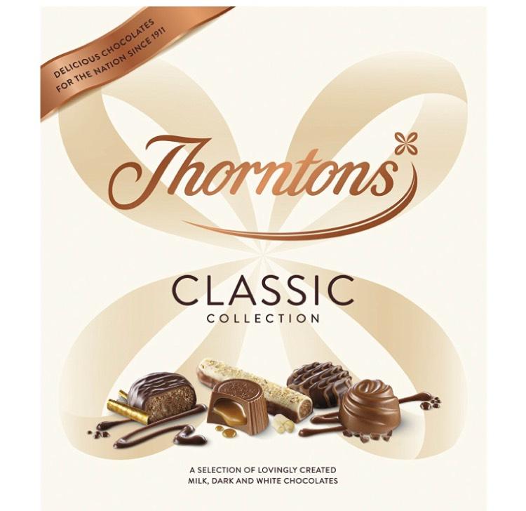 Thorntons Classics (Pack of 5) - £15 (Prime) £19.75 (Non Prime) @ Amazon