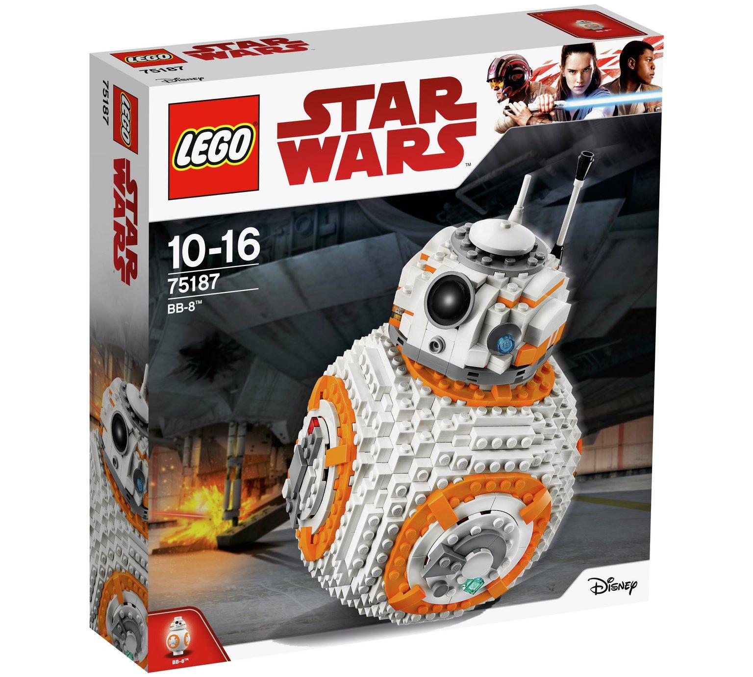 LEGO Star Wars BB-8 75187 £56 + 500 Clubcard points on £30 Lego spend - 1000 Clubcard points on £60 spend - 2000 Clubcard points on £120 spend  @ Tesco Direct