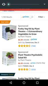 Plant theatre boxes down to £6.39 (Prime) £11.13 (Non Prime) @ Amazon