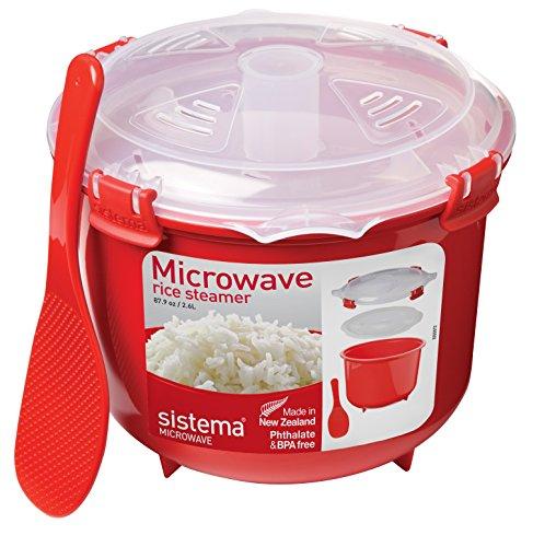 Sistema Microwave Rice Steamer - £5.19 (Prime) £9.18 (Non Prime) @ Amazon