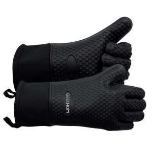GEEKHOM Oven Mitts at Amazon for £9.59 Prime (£11.58 non Prime) Sold by GEEKHOM-EN and Fulfilled by Amazon
