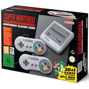 "Nintendo Classic Mini: Super Nintendo Entertainment System back in store at Toys ""R"" Us"