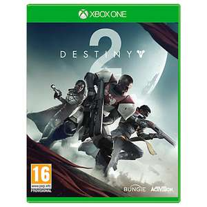Destiny 2 Xbox One - £26 (+£2 C&C or £3.50 P&P) @ John Lewis