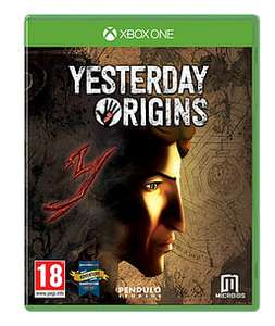 [Xbox One] Yesterday Origins - £5.00 - Game
