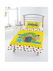 Mr Tumble Something Special Toddler Duvet Set (was £22.99)  now £10.99 @ Very (more in post)