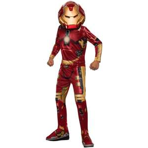 Edit item excluded from codes so is £6 - Iron Man costume Avengers £4.80 at the works. use code for 20% off