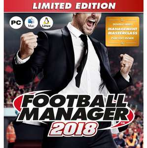 Football Manager 2018 Limited Edition - £15 (C&C) £18.95 Delivered @ Kidderminster Harriers
