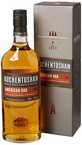 Auchentoshan American Oak Single Malt Scotch Whisky, 70 cl - Only £19 (Prime) £23.75 (Non Prime) @ Amazon!