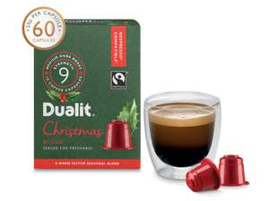 FREE capsule holder when you buy 3 Christmas Blend 60 capsule packs. You will also get free delivery @ Dualit
