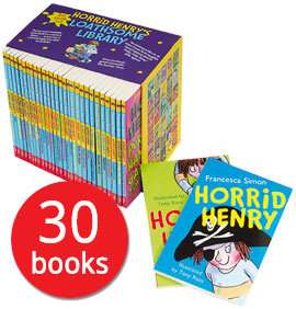 Horrid Henry's Loathsome Library Box Set - 30 Books now £19.10 Del with code @ The Book People (Deal of the Day)