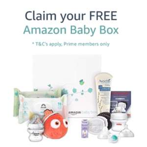 Get a free Amazon baby box when you spend £20