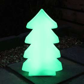 Remote Control Indoor / Outdoor LED Christmas Tree Glow Light - Multi Colour £21.59 with FREE Next Day Delivery using code @ The Cartridge People