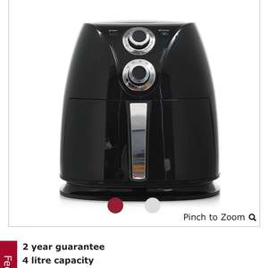 Wilko 4l air fryer @ wilko