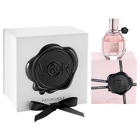 Viktor & Rolf Flowerbomb Eau de Parfum Gift Wrapped £51.50 50ml / £69.84 100ml @ John Lewis