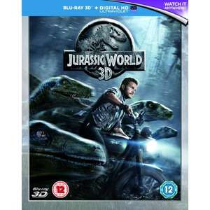 Jurassic World (3D Bluray + normal Bluray) for £4.99 on [365games]