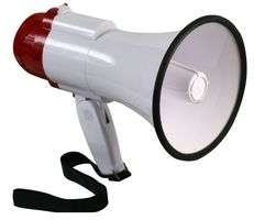 10W Megaphone £8.04 delivered at CPCFarnell