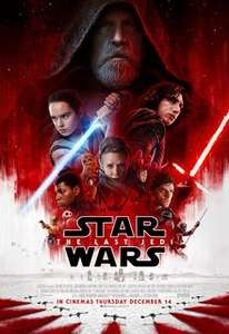 Star Wars Double Bill - The Force Awakens and the Last Jedi back to back for the price of a single ticket! Available at Odeon, Vue, Cineworld, Empire and more nationwide