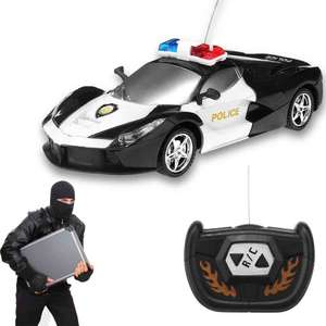 2 Channel Wireless Remote Contro Police Car now £4.45 delivered w/code @ Gamiss