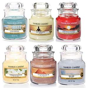 Yankee Candle Selection Assortment Box 6 x Classic Signature Small Jars @ Amazon £19.99 (Prime) sold by My Swift