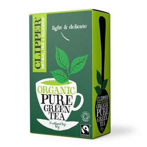 Clipper Organic Green teabags - 60p instore @ Tesco Extra - Holmbush