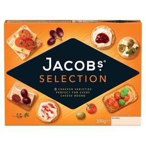 Jacobs biscuits crackers for cheese 300g   -    £1 @ Morrisons