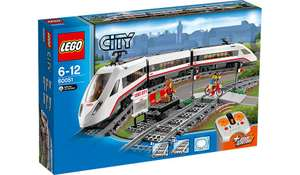 LEGO City 60051 High-speed Passenger Train - £66 @ Asda