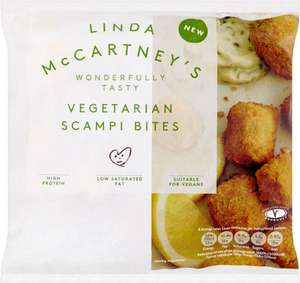 Linda McCartney Vegetarian Style Bites (250g) One pack for £3.00 now 3 packs for £5.00 at Tesco