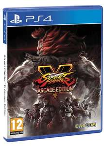 [PS4] Street Fighter V Arcade Edition (Pre-order) - £24.85 - Base