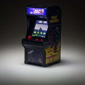 Space Invaders Mini Arcade - £24.99 (free C+C) @ MenKind