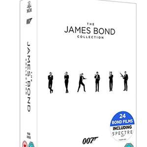 The James Bond Collection 1-24 [DVD] [2017] free delivery - £29.99 @ Amazon