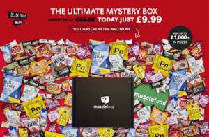 FREE Mystery Box (worth up to £35) @ MuscleFood Min spend £10