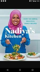 Nadiya's Kitchen - Hardback Recipe Book (15% with code) £6.40 with code @ The Book People