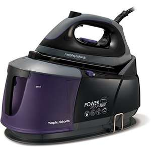 Morphy Richards 332000 Power Steam Elite Steam Generator with Auto Clean and Safety Lock - Purple/Black £140 @ Amazon