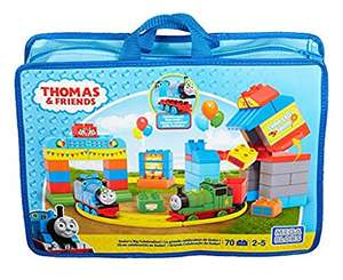 Home Bargains Mega Bloks 900 CNJ13 Happy Birthday Thomas Sodor's Big Celebration Playset £9.99