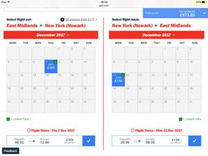 Flight to New York December 7th for 4 days £244 @ Jet 2
