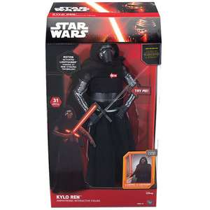 "Star Wars: The Force Awakens 17"" Interactive Kylo Ren Figure £29.96 Half Price! Was £59.96 £29.96 @ Toys R Us"
