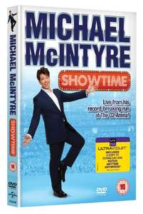 Michael McIntyre: Showtime [DVD] £3.20 Prime @ Amazon