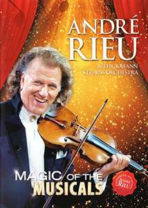 André Rieu Magic of Musical [DVD] @ Amazon - £5.32 Prime / £7.31 non-Prime