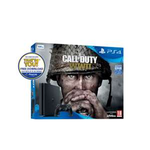 Shopto  PS4 Slim 500GB Call of Duty WWII £227 plus 3% with topcashback or quidco  new customers - £220