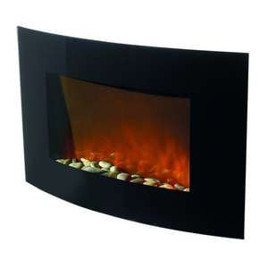 Hyundai Curve Wallmounted Electric Fire - £59.99 @ Poundstretcher