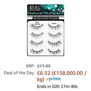 Ardell multipack eyelashes @ Amazon - £6.32 Prime / £10.31 non-Prime