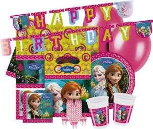 Disney Frozen Party Pack for 16 Guests £3.99 OOS / Disney Princess Glamour Party Kit for 16 Guests £4.99 Delivered @ Argos Ebay